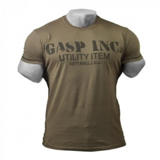 Basic Utility Tee (Wash Green) - GASP