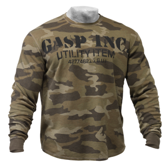Thermal Gym Sweater (Green Camo) - GASP