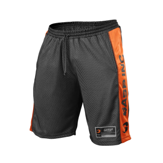 No1 Mesh Shorts (Black/Flame) - GASP
