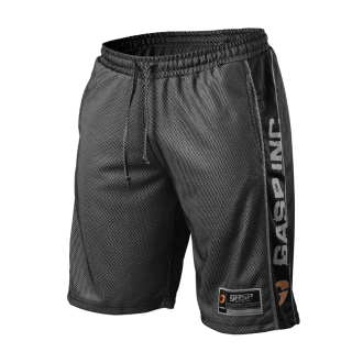 No1 Mesh Shorts (Black) - GASP