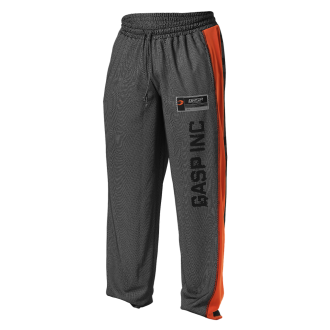 No1 Mesh Pants (Black/Flame) - GASP