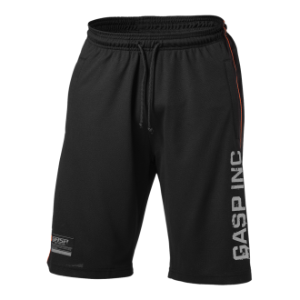 No 89 Mesh Shorts (Black) - GASP