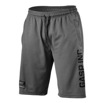 No 89 Mesh Shorts (Grey) - GASP