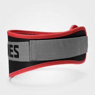 Basic Gym Belt (Black/Red) - Better...