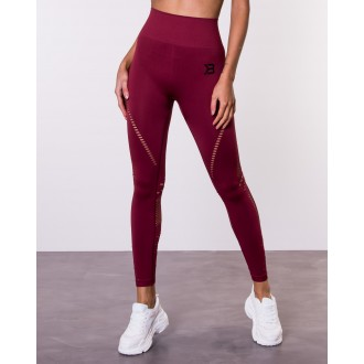 Waverly Tights (Sangria Red) - Better...