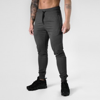 Tapered Joggers (Graph Melange) -...