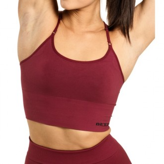 Astoria Seamless Bra (Sangria Red) -...