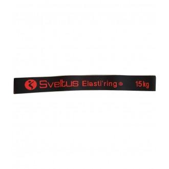 Elasti'ring noir 15 kg - Sveltus