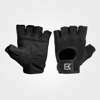 Basic Gym Gloves (Black) - Better Bodies
