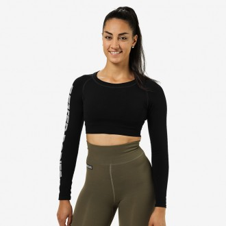 Bowery Cropped LS (Black) - Better...