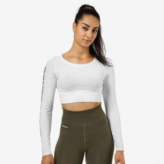 Bowery Cropped LS (White) - Better...