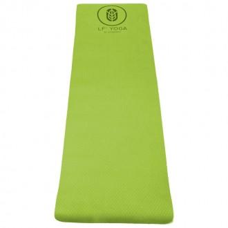 Tapis premium LF' yoga premium 6mm vert