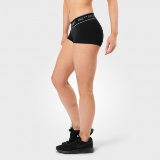 Fitness Hotpant (Black) - Better Bodies