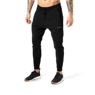 Harlem Zip Pants (Black) - Better Bodies