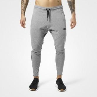 Harlem Zip Pants (Greymelange) -...