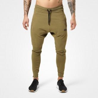 Harlem Zip Pants (Military Green) -...