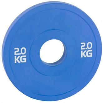 Disque Bumper bleu - 2 kg