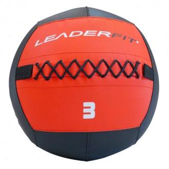Soft medecine ball 3 kg - Rouge et Noir