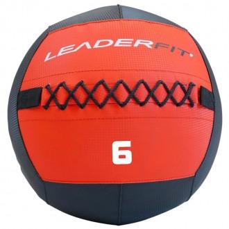 Soft medecine ball 6 kg - Rouge et Noir