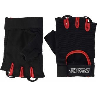 Summertime Gloves (Black/Red) - Chiba