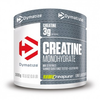 Creatine Monohydrate Powder (300g) -...
