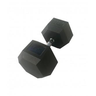 Haltère hexagonale 47.5 kg x1 - Sveltus