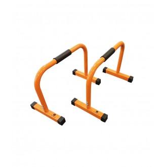 Mini barre parallèle orange x2 - Sveltus