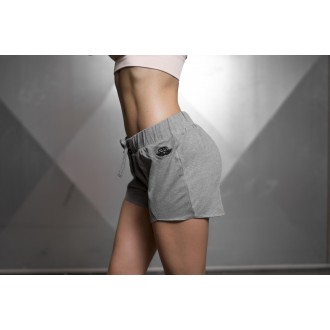 Overlap Short (Light Gray Melange) -...