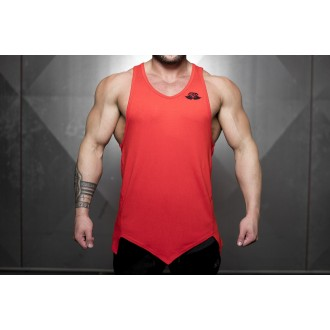 Ravic Tanktop (Fire Red) - Body Engineers