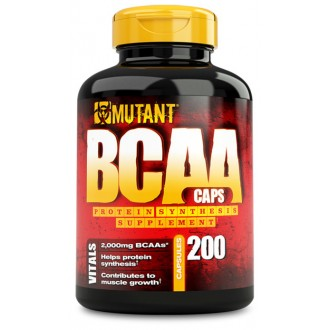 Mutant BCAA Caps (200) - Mutant