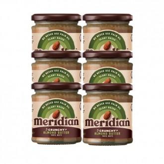 Almond Butter (6x170g) - Meridian Foods