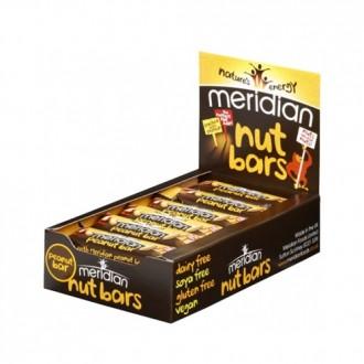 Peanut Bars (18x40g) - Meridian Foods