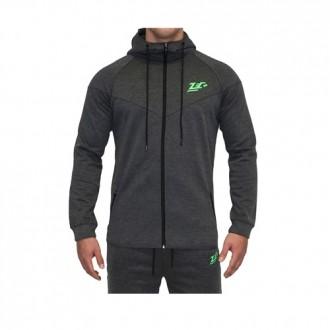 Hoodie New School Grey - Zec+ Sportswear