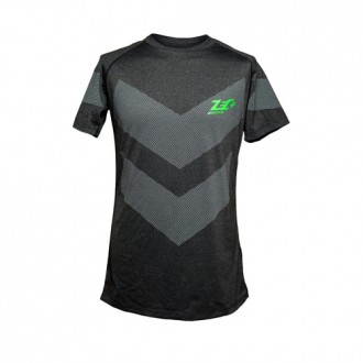 T-Shirt Rashguard Dark Black - Zec+...