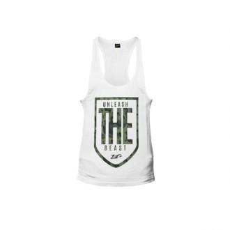 T-Shirt Unleash the Beast White -...