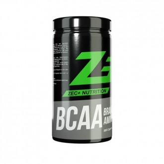 BCAA Caps (500 Caps) - Zec+