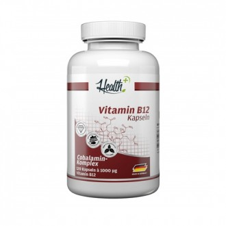 Health+ Vitamin B12 (120) - Zec+