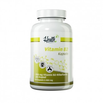 Health+ Vitamin B2 (120) - Zec+