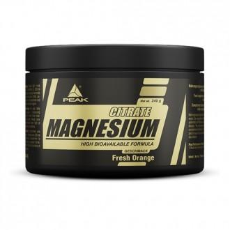 Magnesium Citrate (240g) - Peak