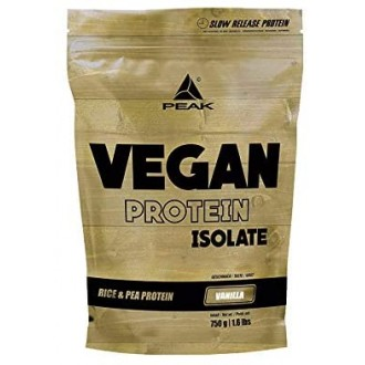 Vegan Protein Isolate (750g) - Peak