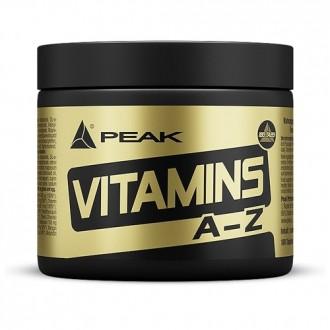 Vitamins A-Z (180) - Peak