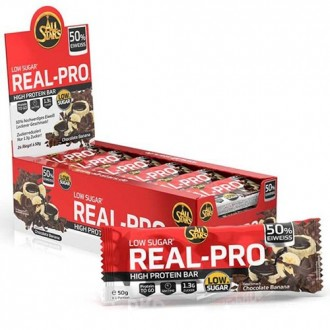 Real-Pro High Protein Bar (24x50g) -...