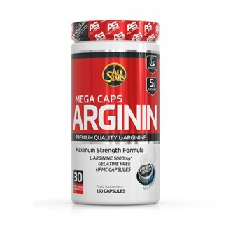 Arginine Mega Caps (150 caps) - All...