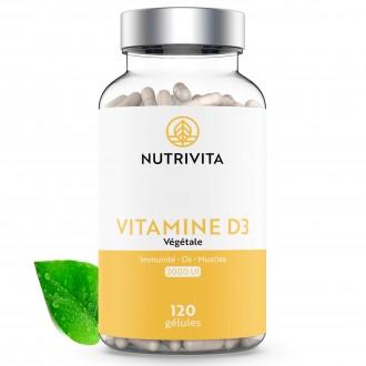 VITAMINE D3 1000 UI - Nutrivita