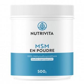 MSM EN POUDRE - Nutrivita