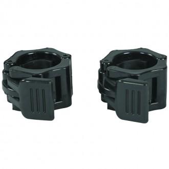 Bagues Stop Disques noir - diamètre 30mm