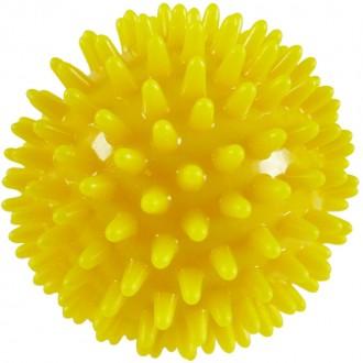 Balle à picots jaune