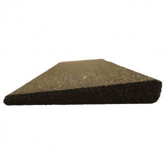 Bordures pour dalle géo noir - 15cm X...