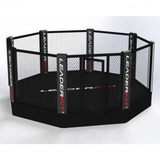 Cage MMA sur podium 5 m