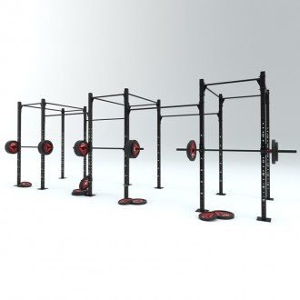Cage LF' - 4 postes